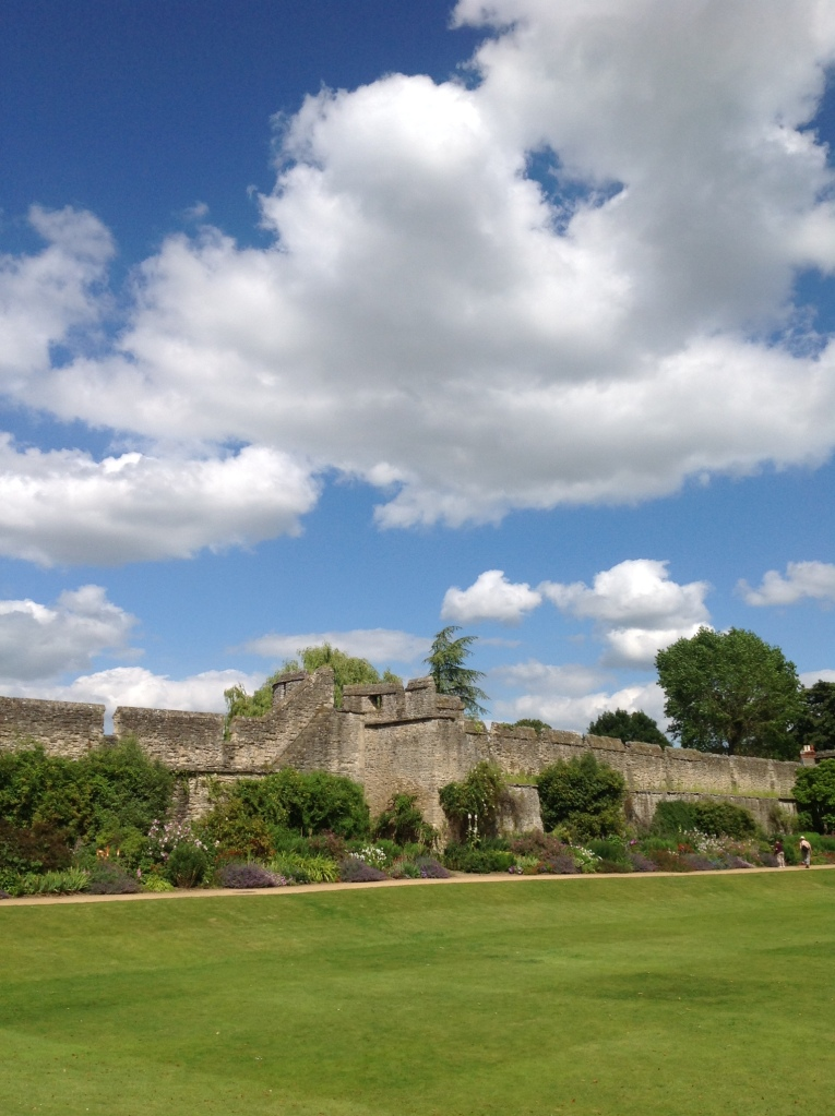 Blue Skies in England   Lynnette Therese