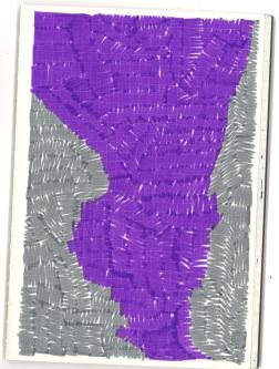sketchbook page, ink on paper, $25