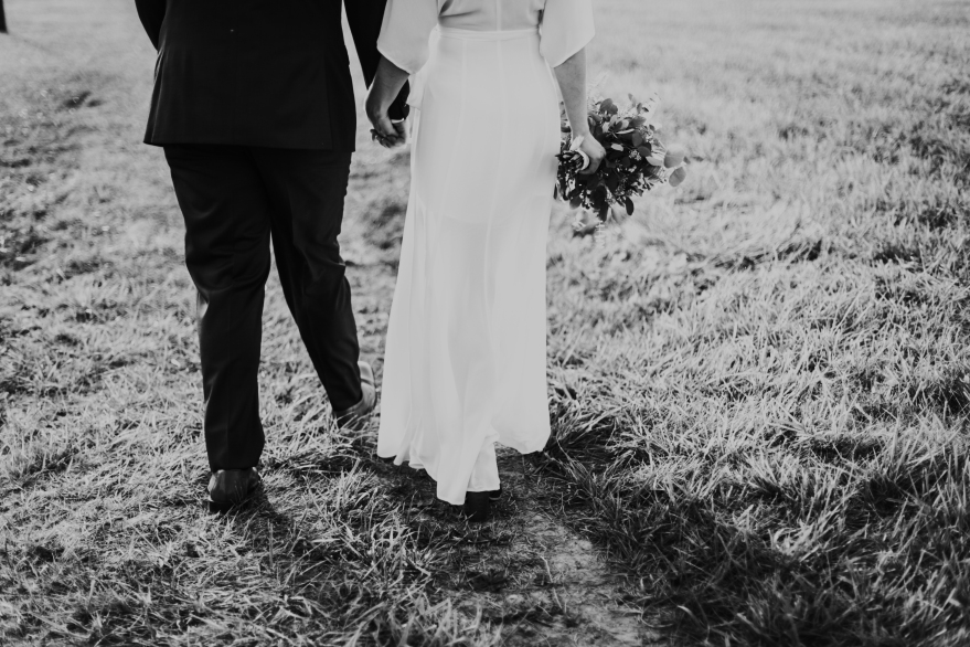 our wedding, on year later | Lynnette Therese Sauer