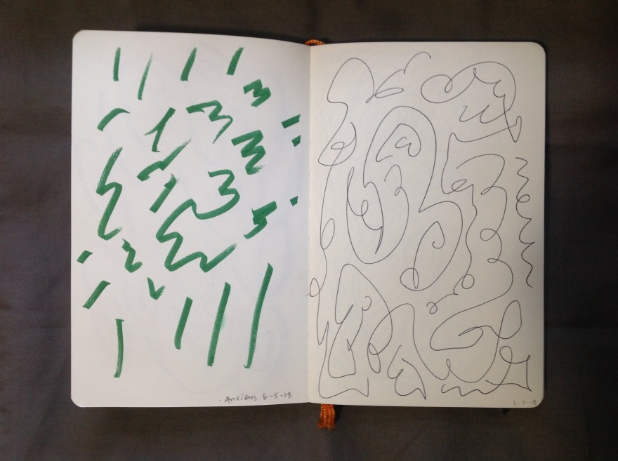 summer 2018 sketchbook | Lynnette Therese Sauer